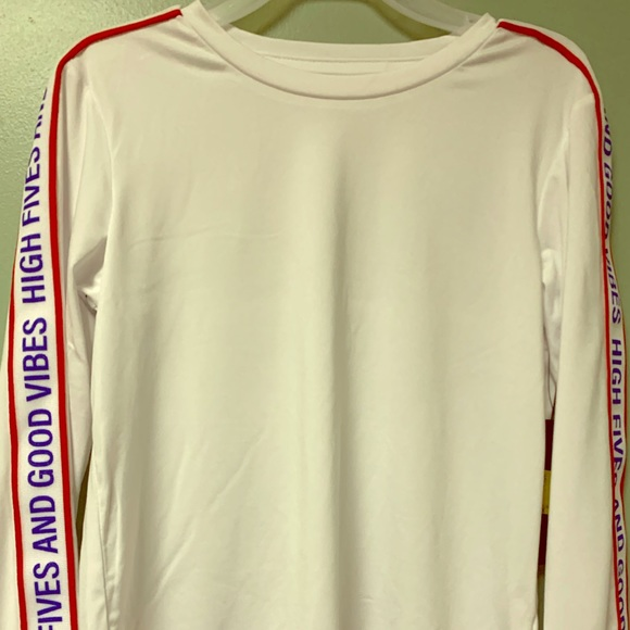 White Zutano Lions Long Sleeve T Shirt